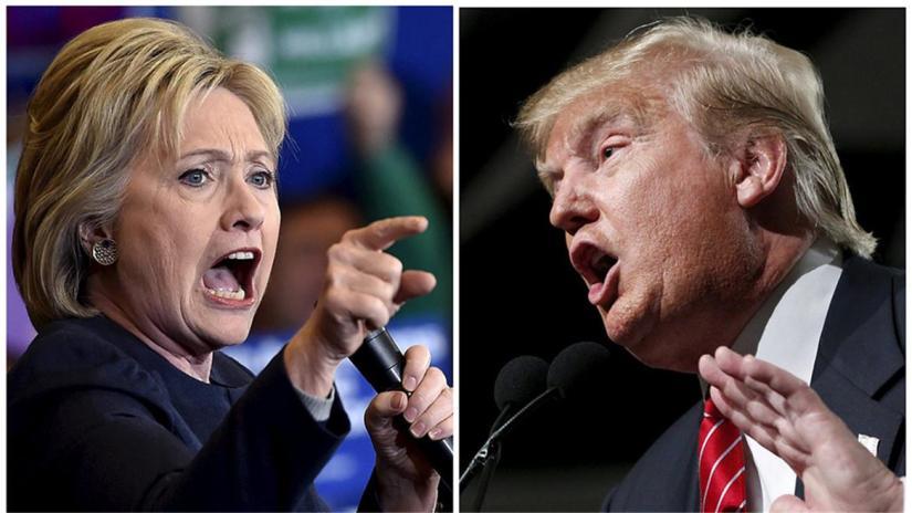 You're Fired! Clinton beatsTrump